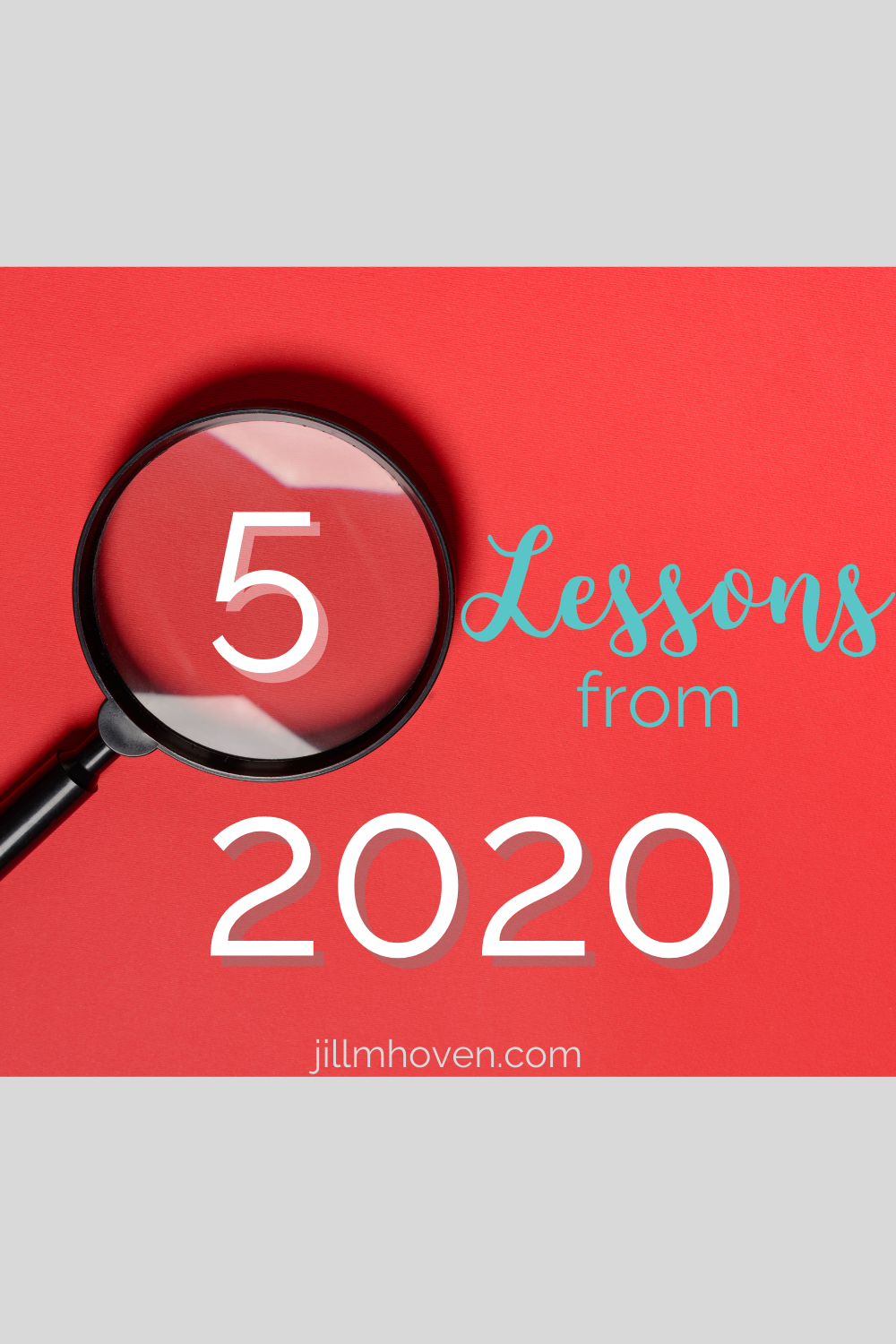5 lessons from 2020